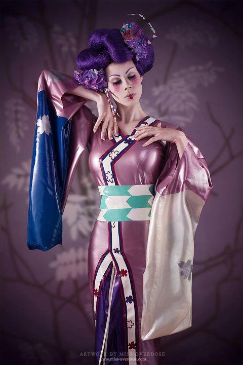 Long Kimono Gown