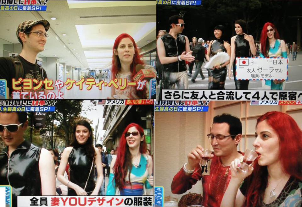 """Dawnamatrix Featured on T. V Show """"Why Did you Come to Japan?"""" """"YOUは何しに日本へ?"""""""