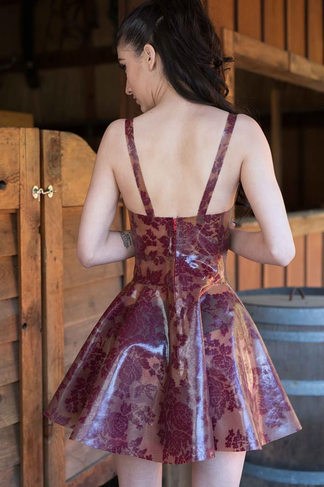 Lace Skater Dress – Dawnamatrix Latex Clothing eddc3a9eb