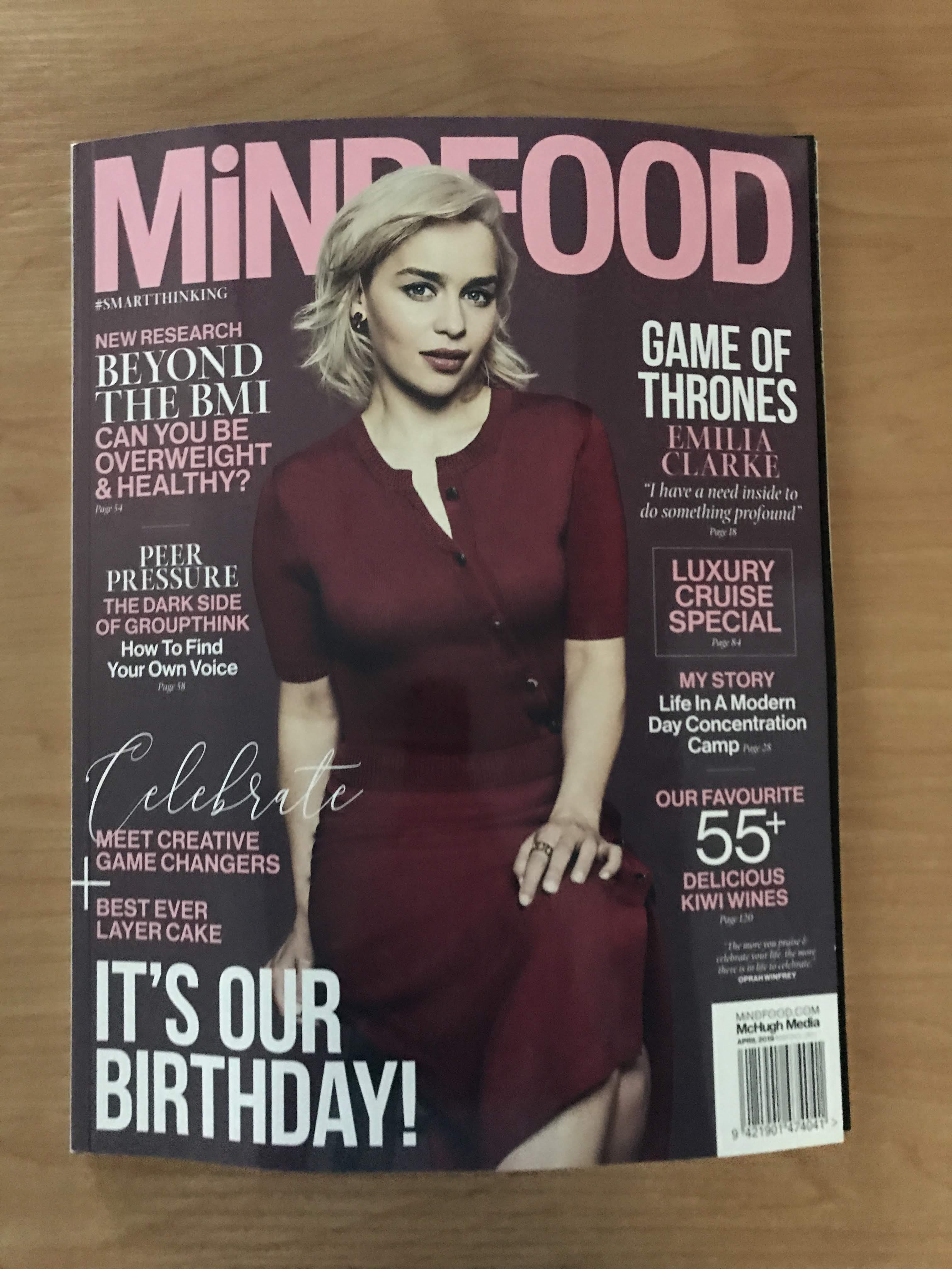 Dawnamatrix WOW's in MiNDFOOD Magazine