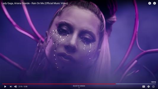 Lady Gaga & Ariana grande Make it rain