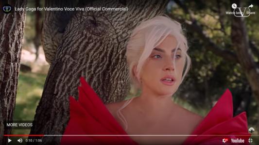 Lady Gaga & Voice Vivafragrance