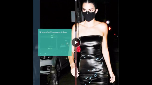 Kendall Jenner Reminds Us Of All The Fun To Be Had With Latex Couture