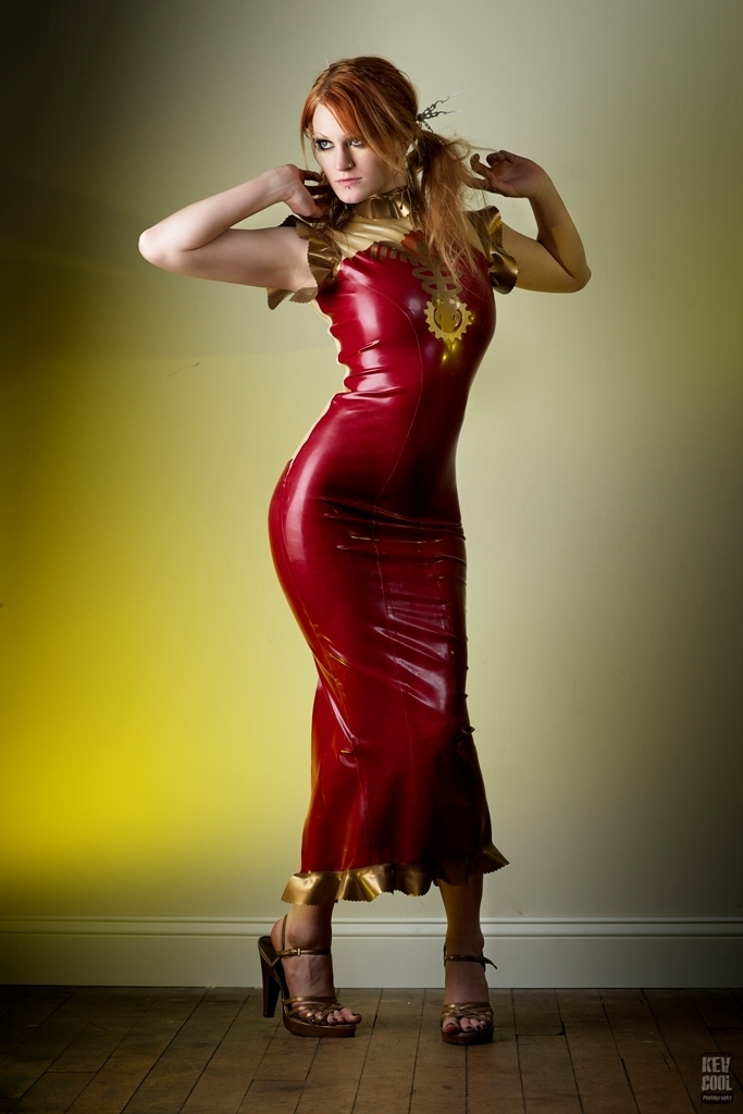 Caduceus Dress Dawnamatrix Latex Clothing