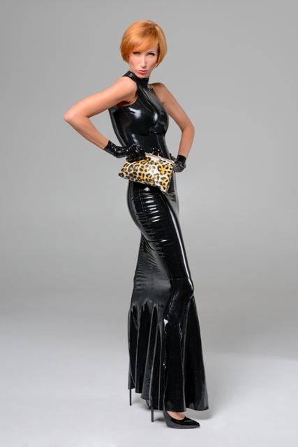 Basic Mermaid Gown Dawnamatrix Latex Clothing