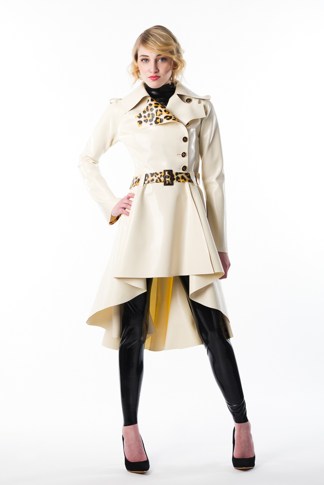 dress album trench open drapes coat draped products