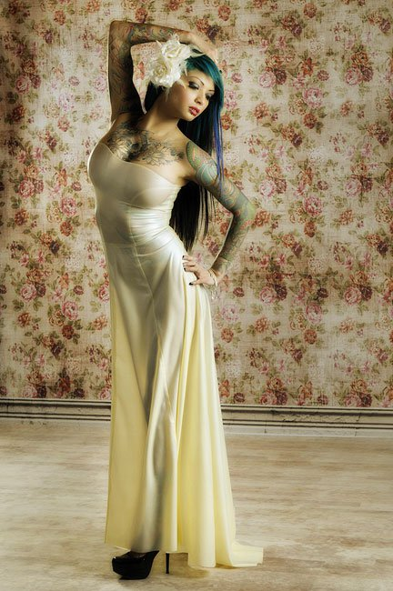 enchantment wedding gown � dawnamatrix latex clothing