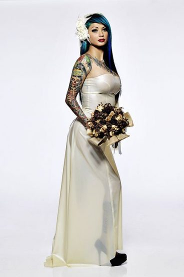 Enchantment Wedding Gown Dawnamatrix Latex Clothing