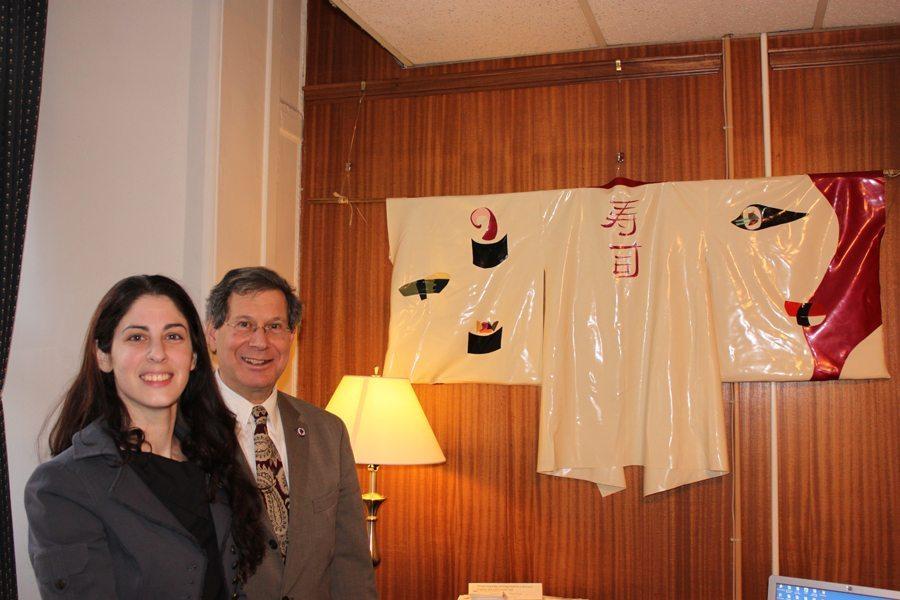 State House Reception Latex Kimono