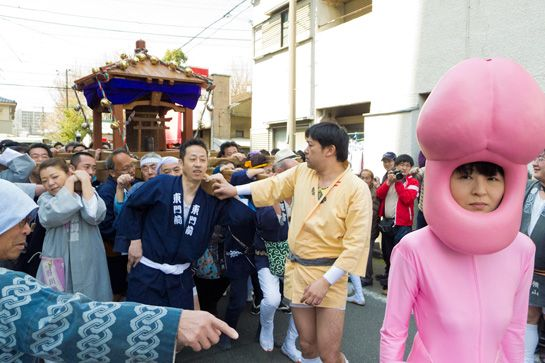 Giant Phalli and Kimono Wearing Crossdressers: Just Another April Weekend In Japan