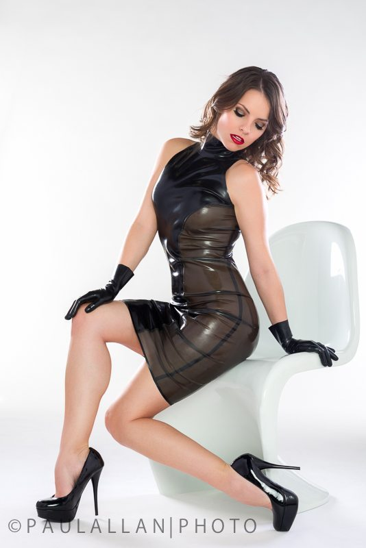LatexFashionGlitterazziDress1