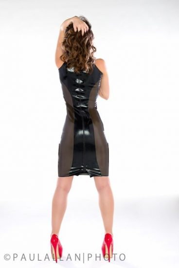 LatexFashionGlitterazziDress2