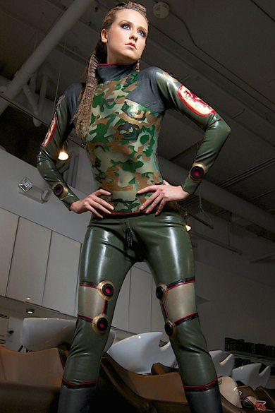 Military Plugsuit Dawnamatrix Latex Clothing