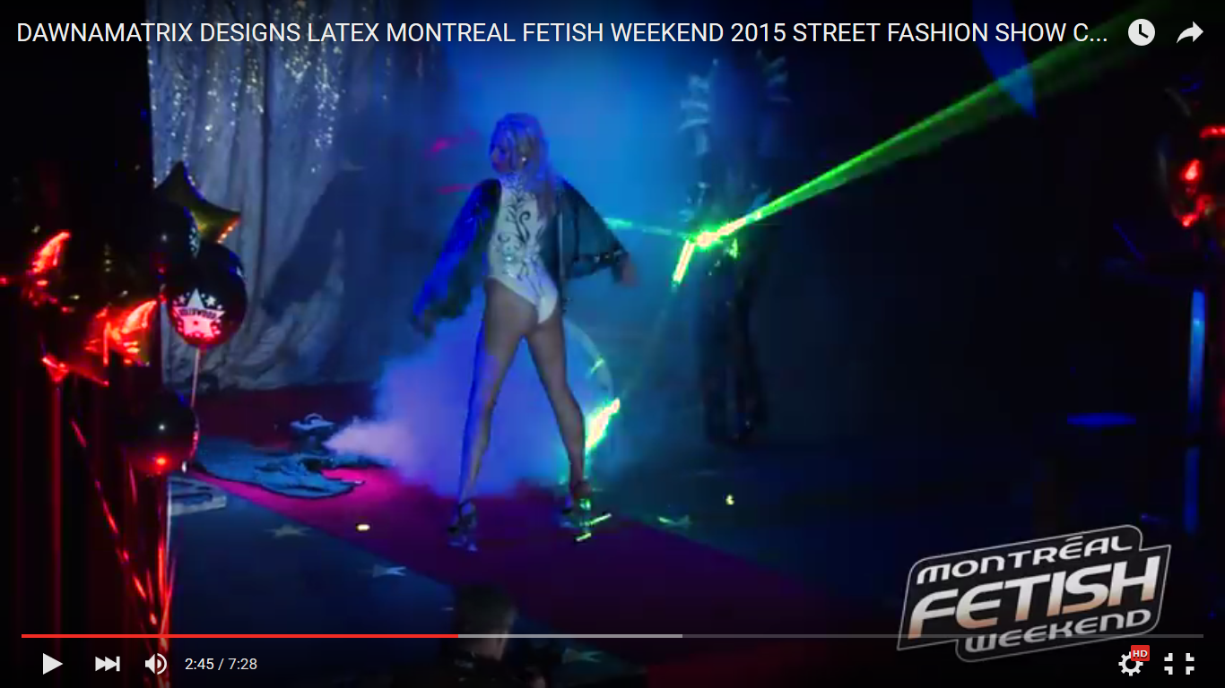 Montreal Fetish Weekend 2015, Saturday Night Fashion Show Video