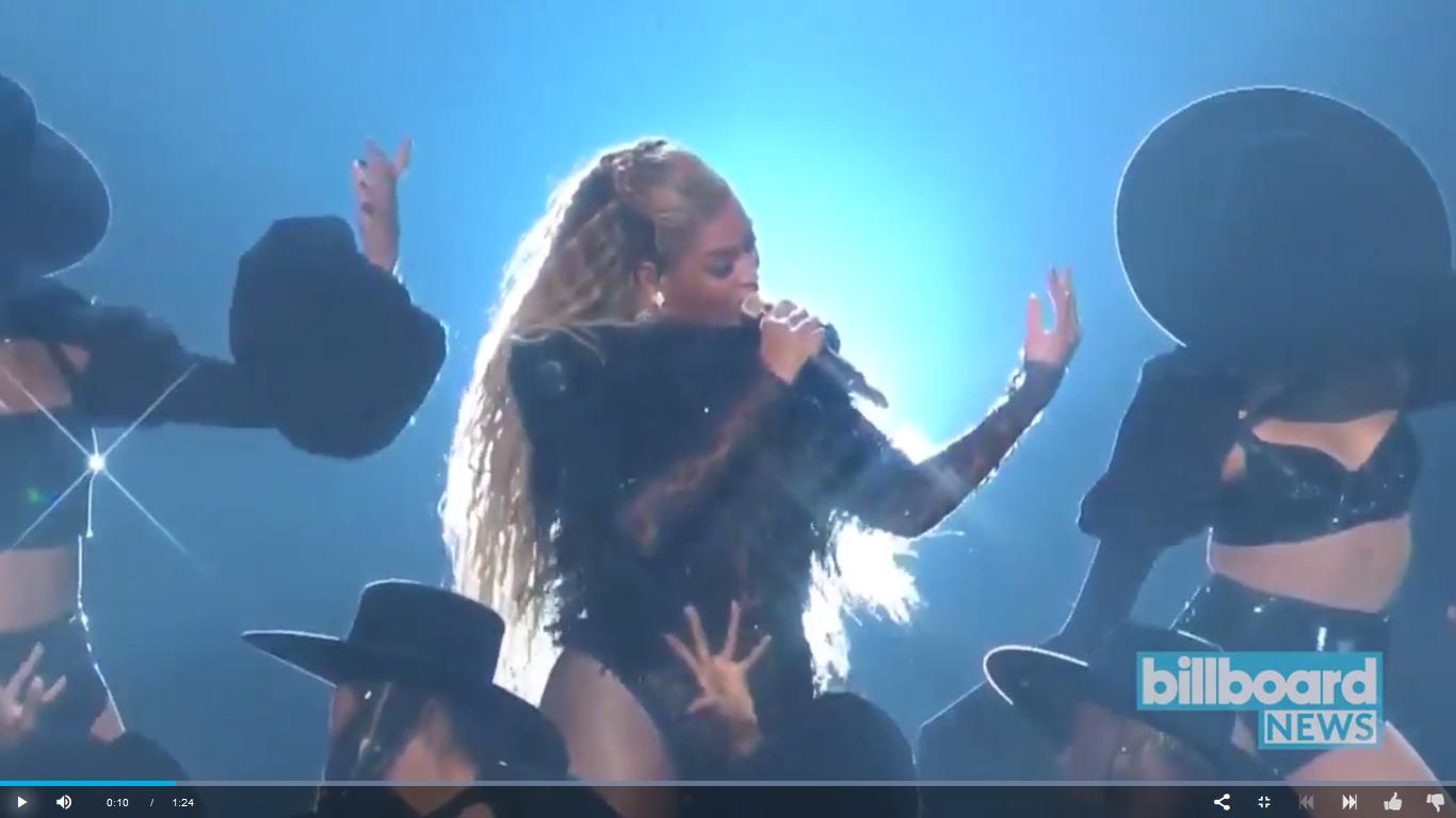 Dawnamatrix & Beyoncé @ The 2016 VMA's: Together Again