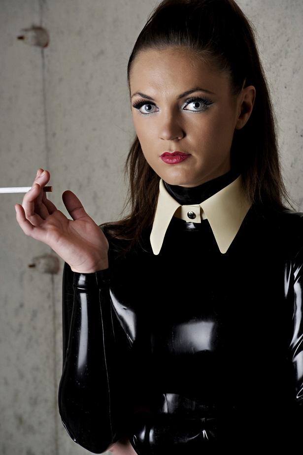 Snap Collar Dawnamatrix Latex Clothing