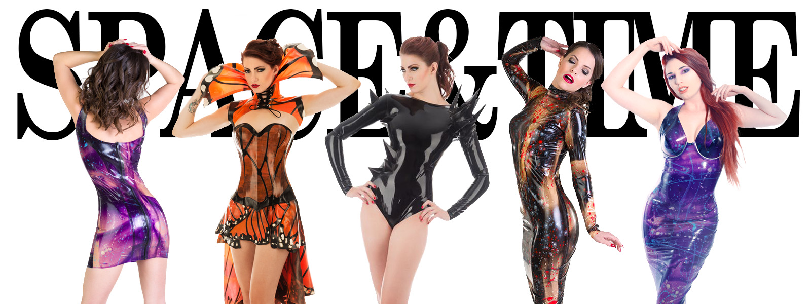 Space And Time Lookbook Dawnamatrix Latex Clothing