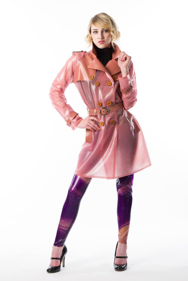Trench Coat Dawnamatrix Latex Clothing