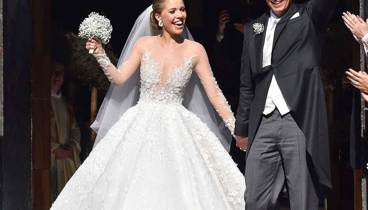 If One\'s Wedding Gown Costs A Million Dollars, It Should Shine ...