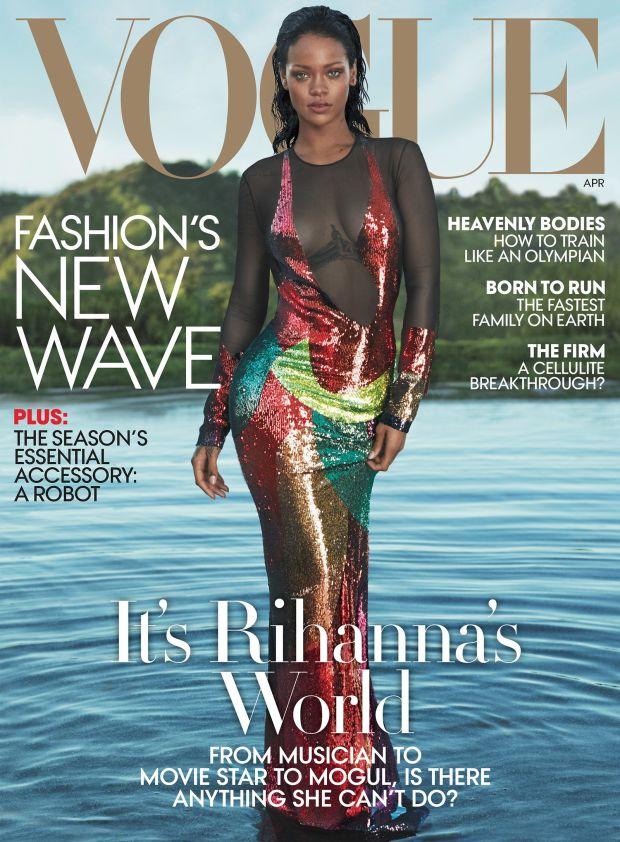 Vogue April 2016 Cover