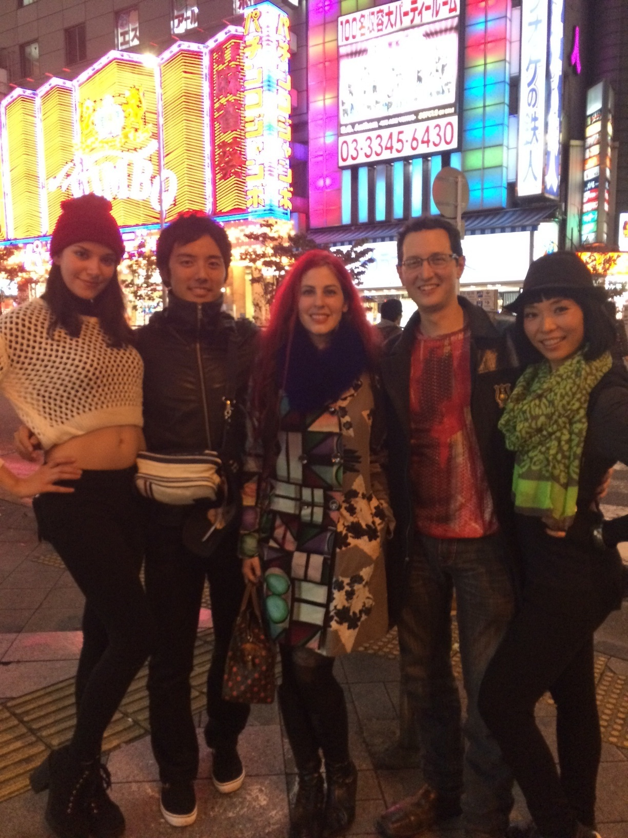 "Team Dawnamatrix filmed for Tokyo's ""Why did you come to Japan? 「Youは何し日本へ"" TV show."