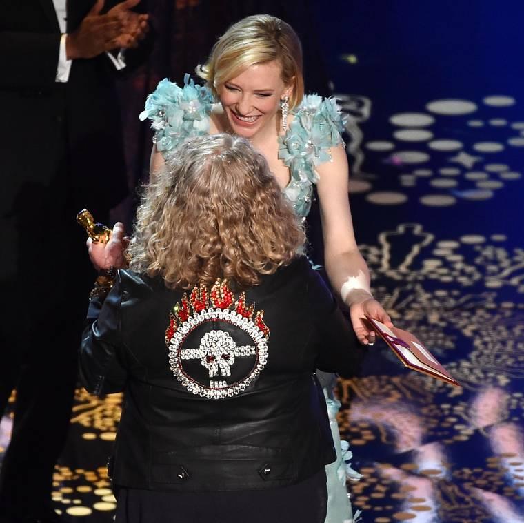 Jenny Beavan Leather's-Up The Oscars