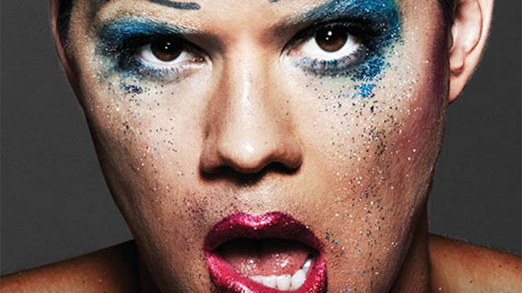 Andrew Rannells in Hedwig and the Angry Inch