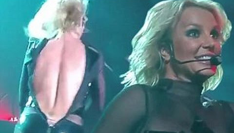 The Seemingly Inevitable, Always Public, Wardrobe Malfunction As Perfected By Britney Spears