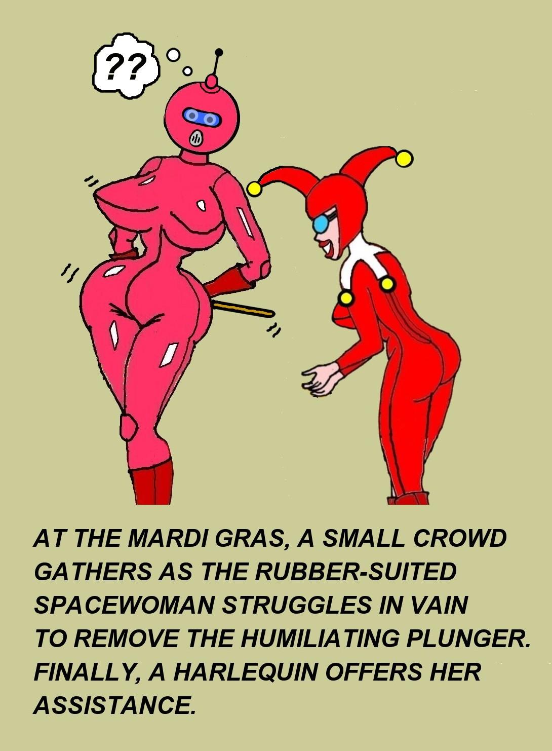 Naughty Writing And Fetish Latex Cartoons From Roxy Katt