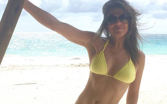 Elizabeth Hurley's Got Your Number...and that number is 50!