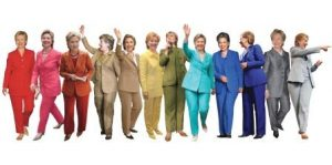 hillary suits