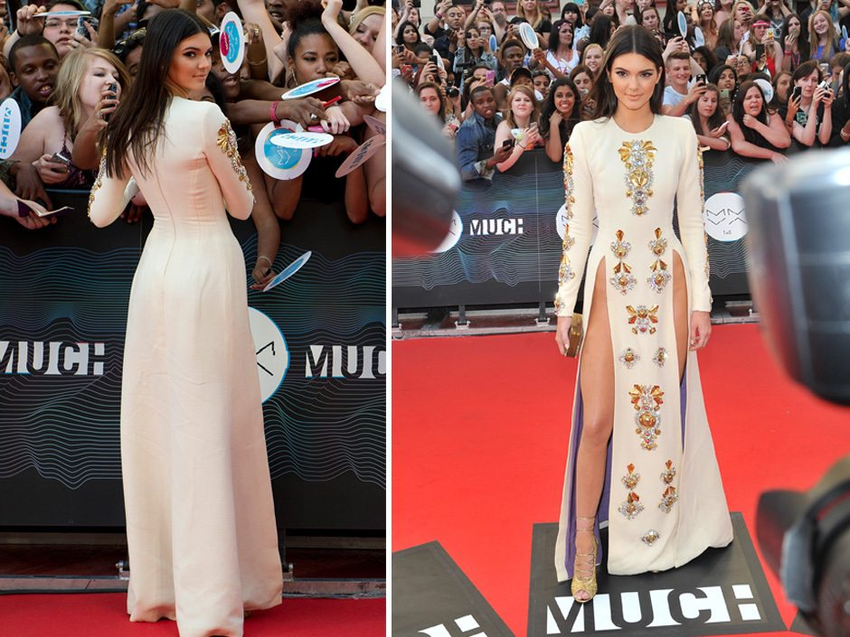 National Emergency: Kendall Jenner Shows Her Hip Bones At MuchMusic Video Awards!