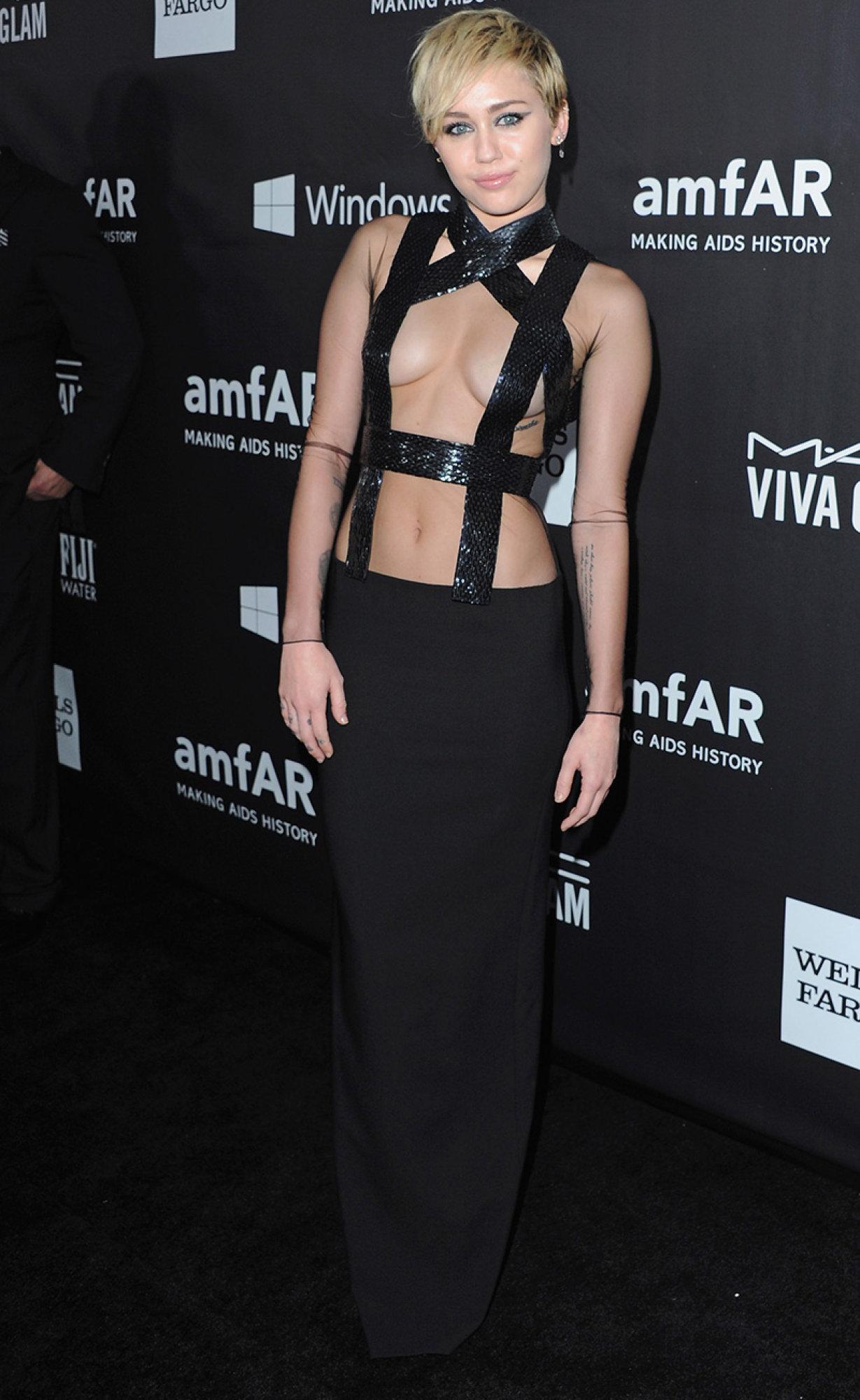 Miley Cyrus & Bondage Chic