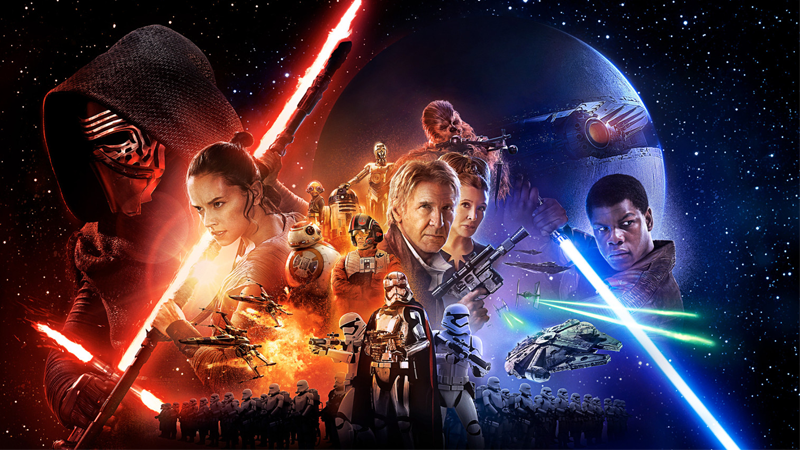 The New The Force Awakens Poster: No Luke…But Look At Those Costumes!