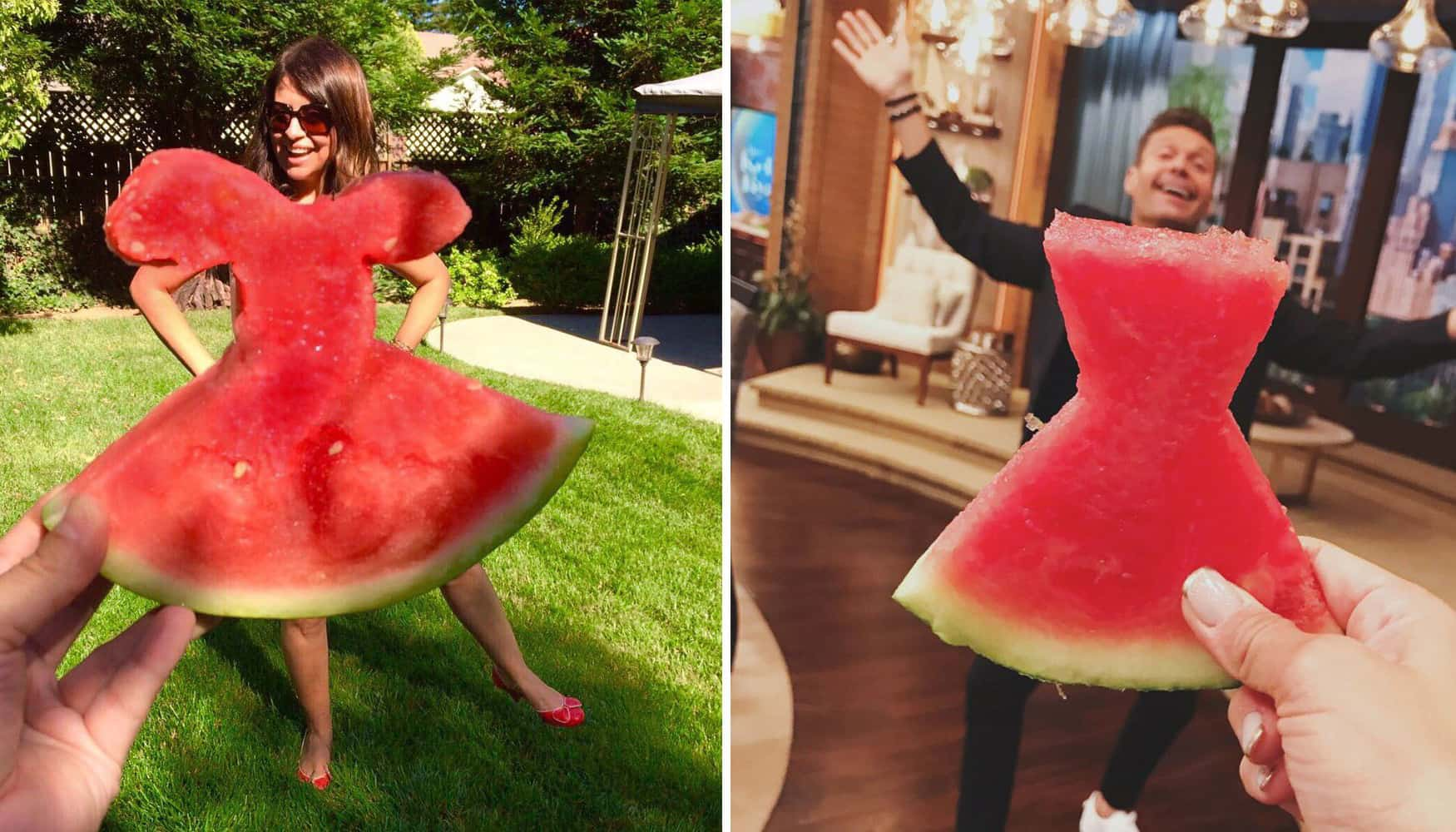 A Summer Time Treat That Can't Be Beat: The Watermelon Dress?